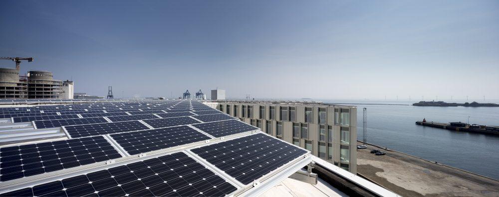 UN City Solar Panels